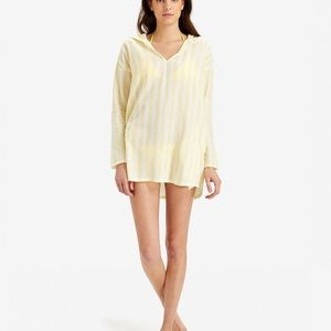 Onia swimsuit coverup hoodie NWT SIZE S